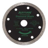 Austsaw Diamond Blade Continuous Rim