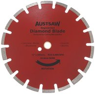 Austsaw Diamond Blade Asphalt and Concrete