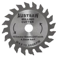 Austsaw Milling Cutters