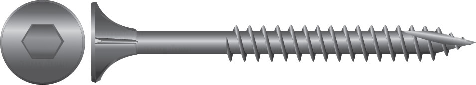 Stainless Bugle Batten Type 17 Screws for Timber