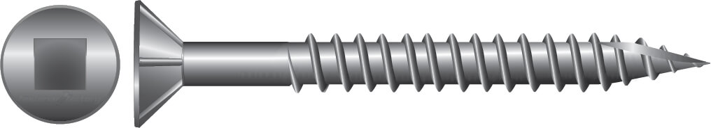 Stainless Decking Screws for Timber