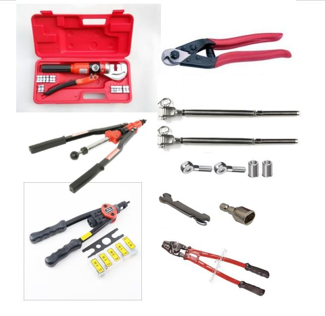 Bundles with tools, fittings & wire