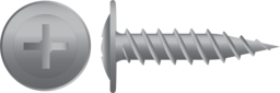 Galvanised Button Stitching Screws