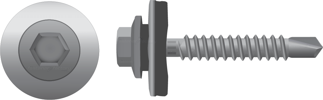Cyclone Assembly Roofing Screws