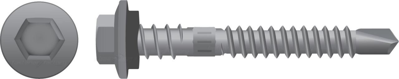 Galvanised Roofing Screws Metal