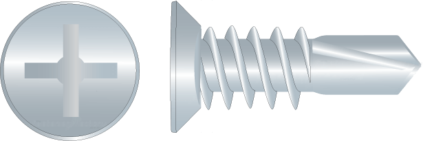Zinc Undercut Self Drilling Screws
