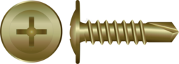 Zinc Button Self Drilling Screws