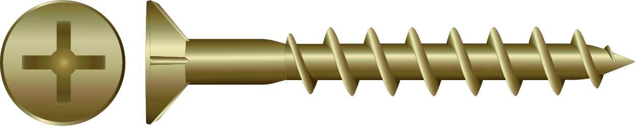 Zinc Chipboard Screws