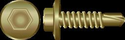 Zinc Hex Self Drilling Screws