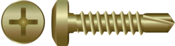 Zinc Pan Self Drilling Screws