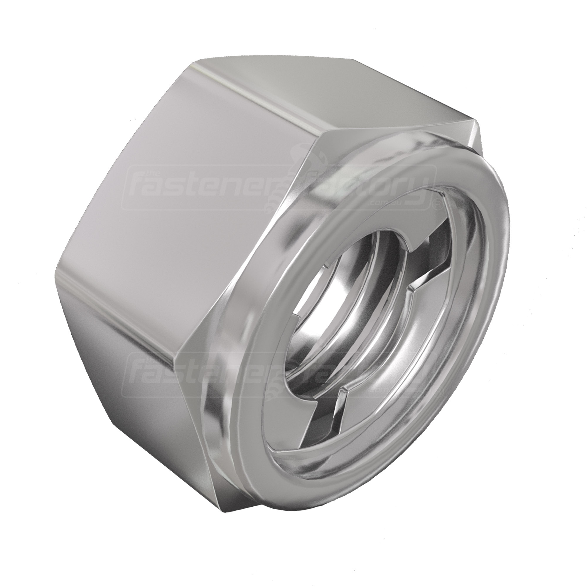 Stainless Hex Coupling Nut - All Stainless Nuts - Nuts & Bolts
