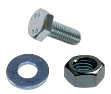 Zinc Plated Bolts, Nuts & Washers