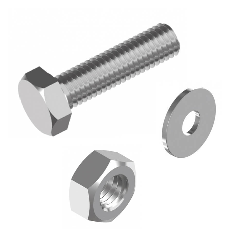 Stainless Bolts Nuts & Washers