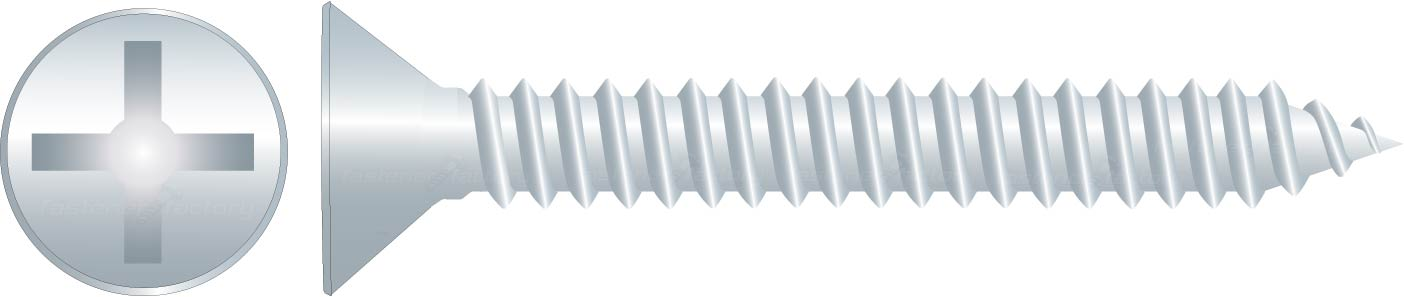 Zinc Countersunk Self Tapping Screws