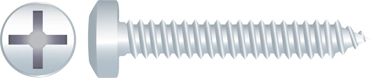 Zinc Pan Self Tapping Screws