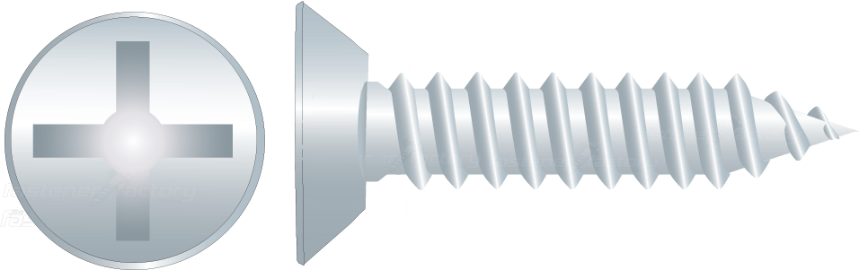 Zinc Undercut Self Tapping Screws