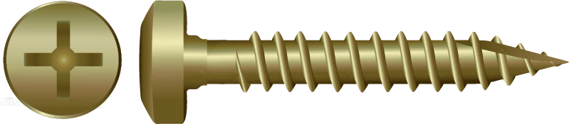 Zinc Pan Type 17 Screws