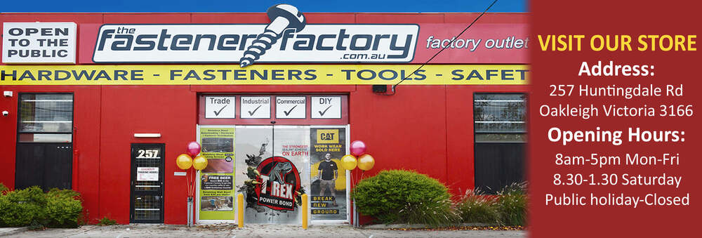 The Fastener Factory Discount Hardware Supplies, Buy Tools
